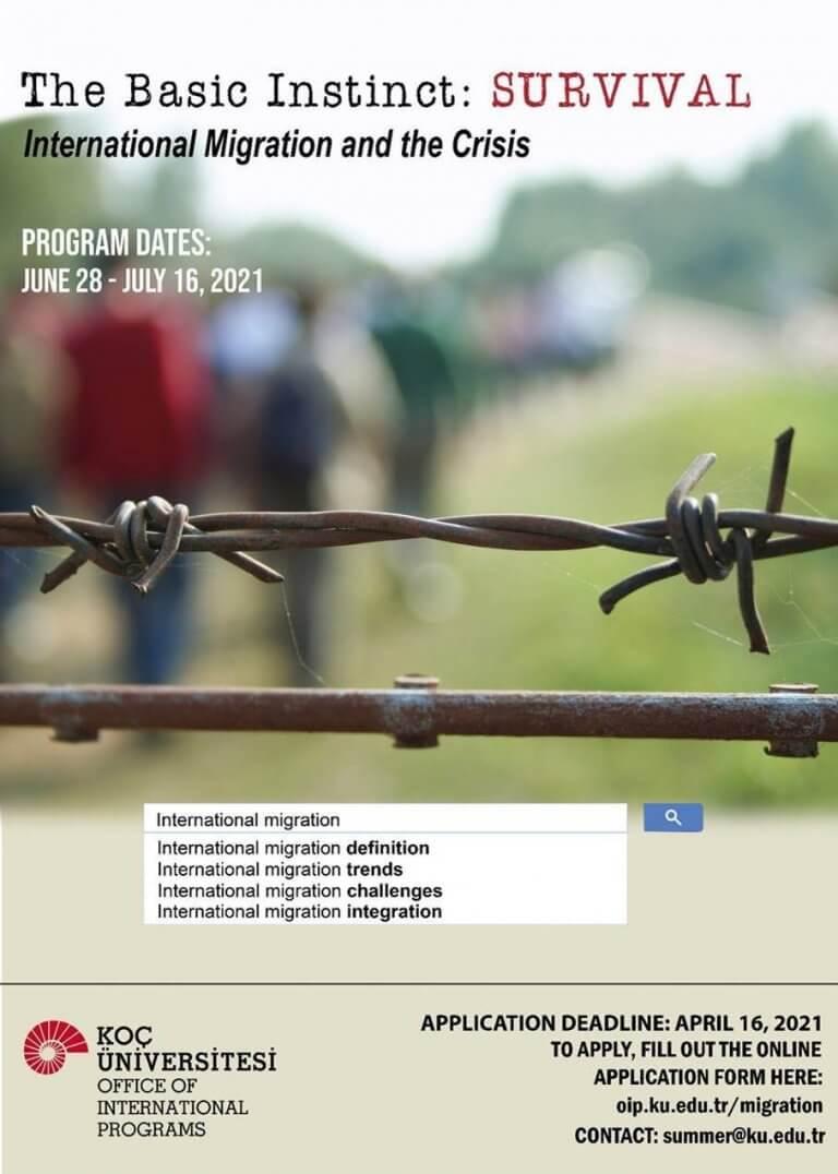 科奇大学暑期课程-国际移民和危机