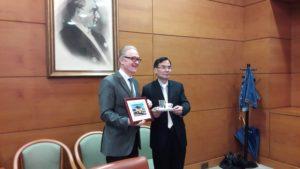 厦门大学代表团来访_科奇大学中文官网